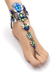 Crystal Foot Jewelry - reginasdesire