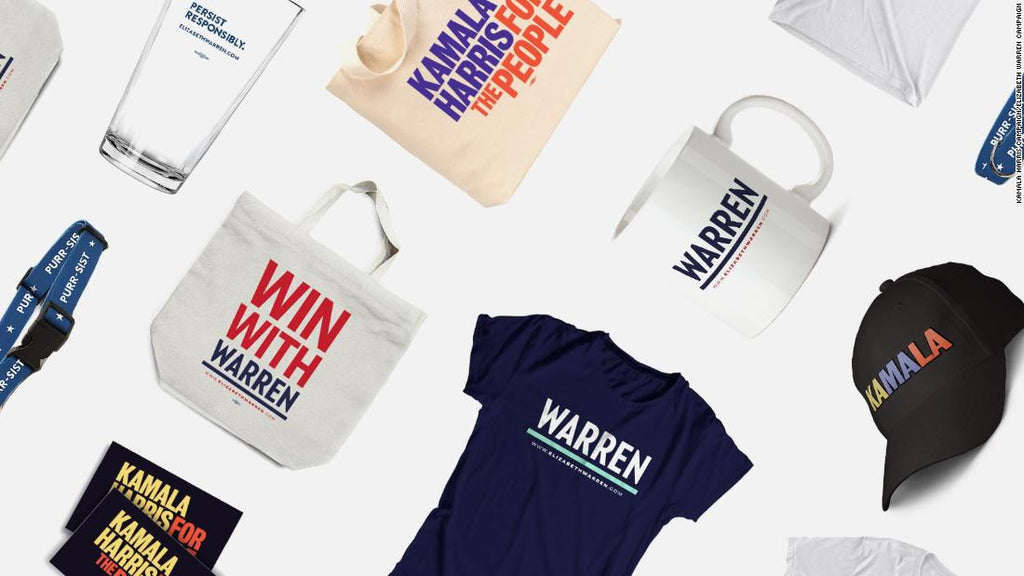 T-shirts, tote bags and tweets: How presidential candidates are scrambling for small donors