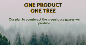 One Product Shipped = One Tree Planted