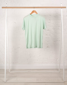 Merino Tee in Mint Sorbet