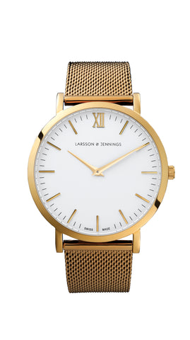 Gold Lugano 40mm