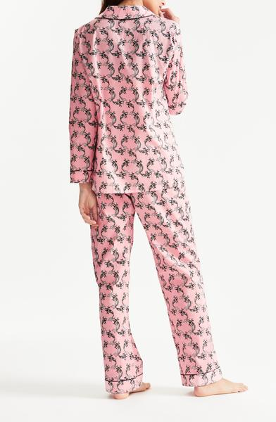 Fortune Fish Cotton Pyjamas Rose