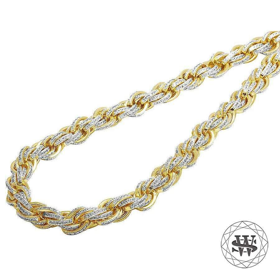 products necklace quality puffed world yellow gold shine simulated high diamond finish brass chain classic anchor