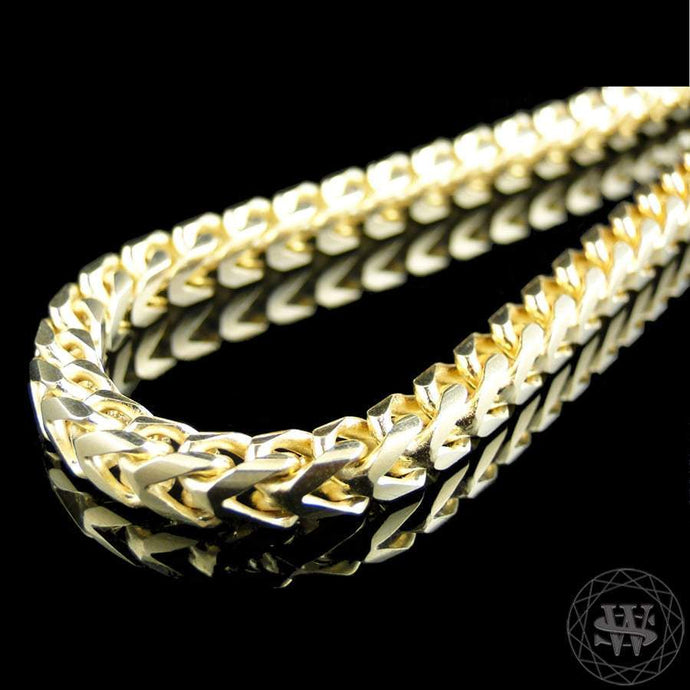 World Shine Chain 14K Yellow Gold / 5 mm / 38