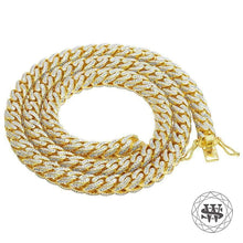 "World Shine Chain 8 mm / 26"" / 66.04 cm Classic High Quality Brass Yellow Gold Finish Solid Franco Chain 8mm"
