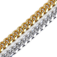 World Shine Chain Iced Out Cuban Chain Gold 12mm