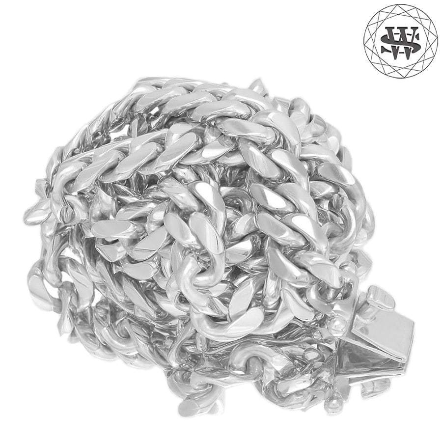 World Shine Chain White Gold / 7.5 mm / 16