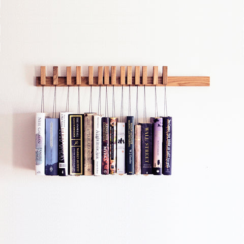 BOOK RACK IN OAK