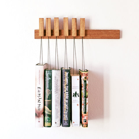 MINI BOOK RACK IN OAK