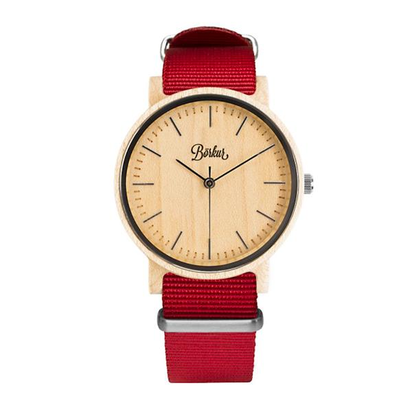 Wooden Watch Ivory