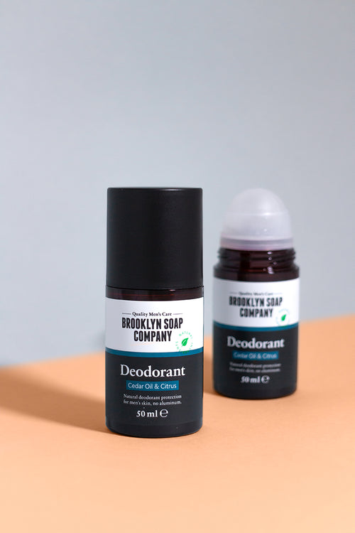 Deodorant Homme roll on Brooklyn soap company