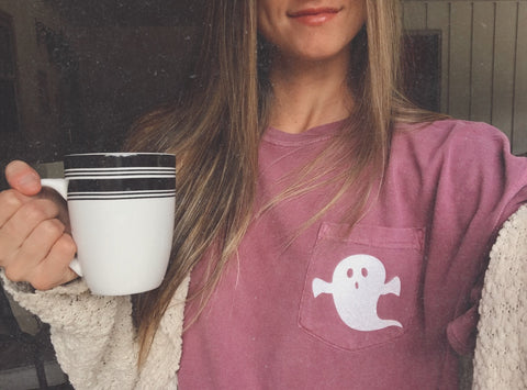 Ghost Pocket Tee