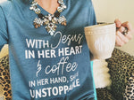 Jesus In Her Heart Tee