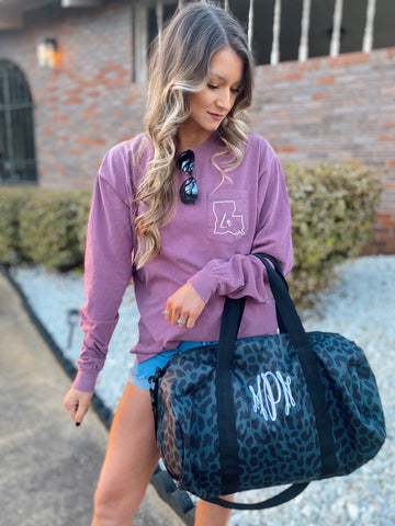 Weekender Duffle Bag -- Add Your Monogram!