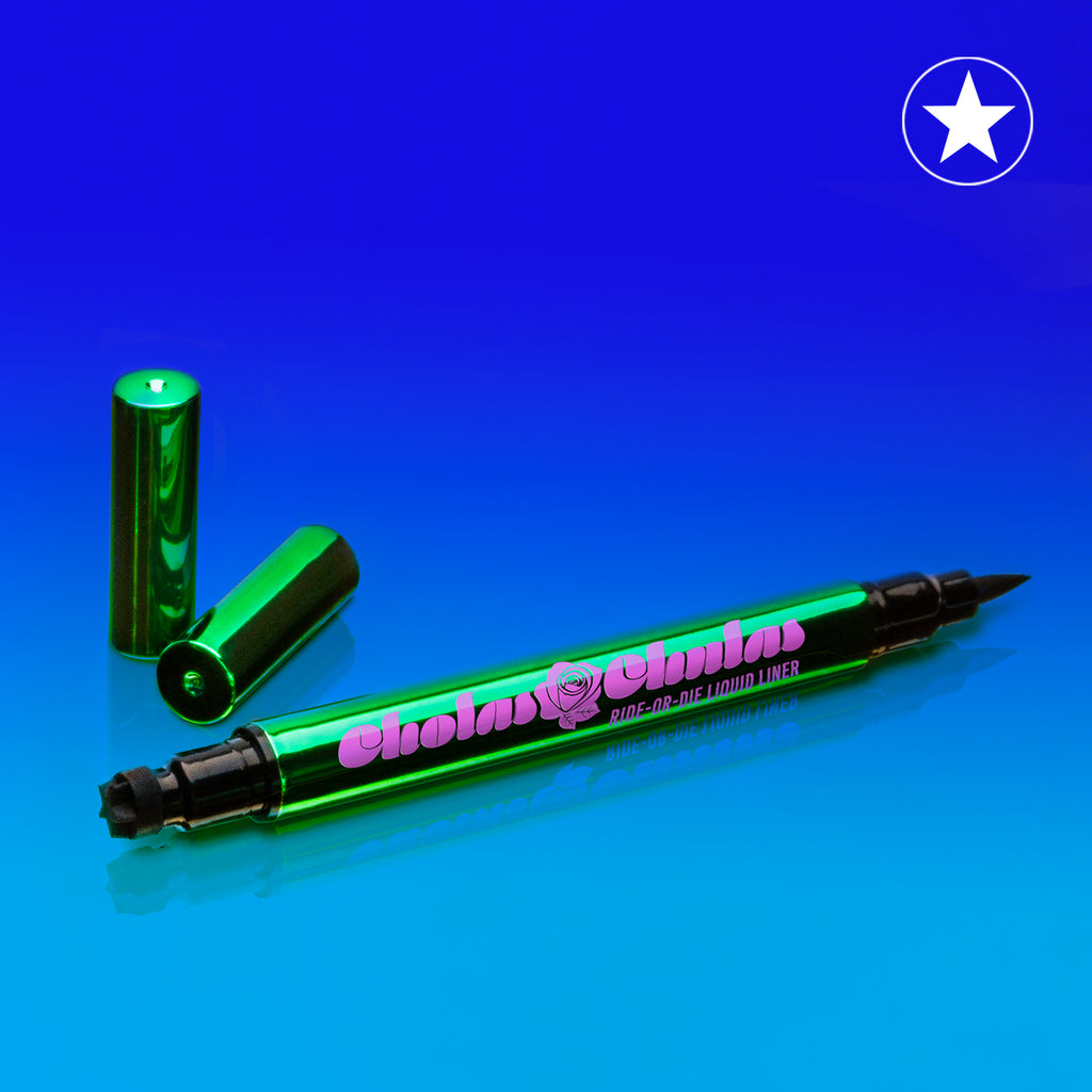 Ride-Or-Die Dual-Ended Eyeliner with Star Stamp