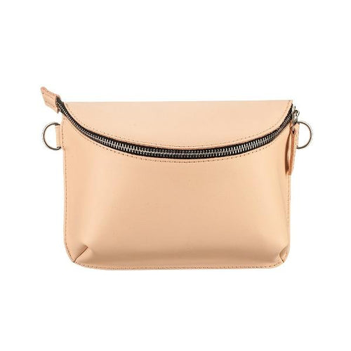Ampm Beige Universal Leather Bag-AMPM-HOUSE of BOTTA