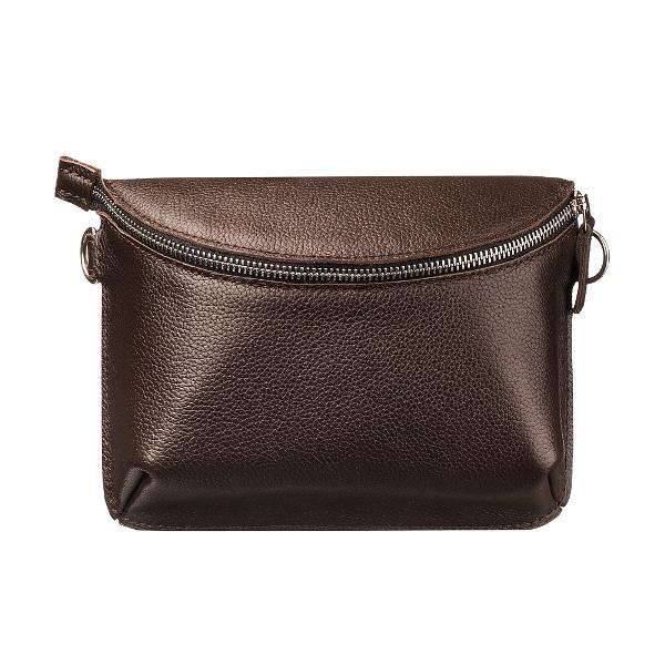 Ampm Brown Universal Leather Bag-Women-HOUSE of BOTTA