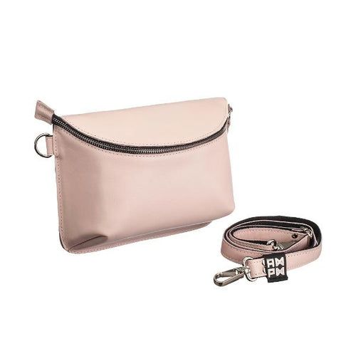 Ampm Pink Beige Universal Leather Bag-AMPM-HOUSE of BOTTA