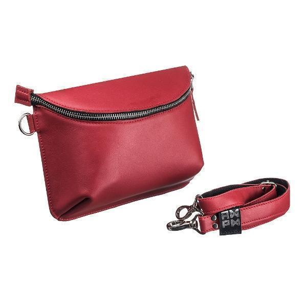 Ampm Red Universal Leather Bag-Women-HOUSE of BOTTA