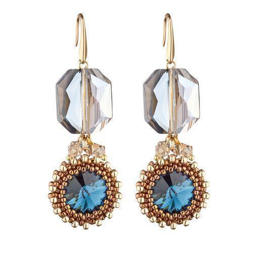 Anais Earrings Blue-ANAIS-HOUSE of BOTTA