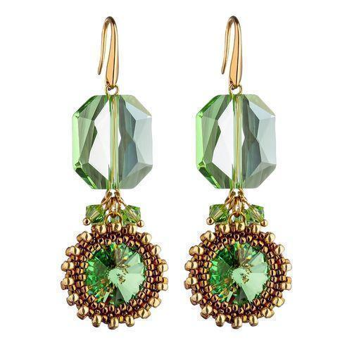 Anais Earrings Emerald-ANAIS-HOUSE of BOTTA
