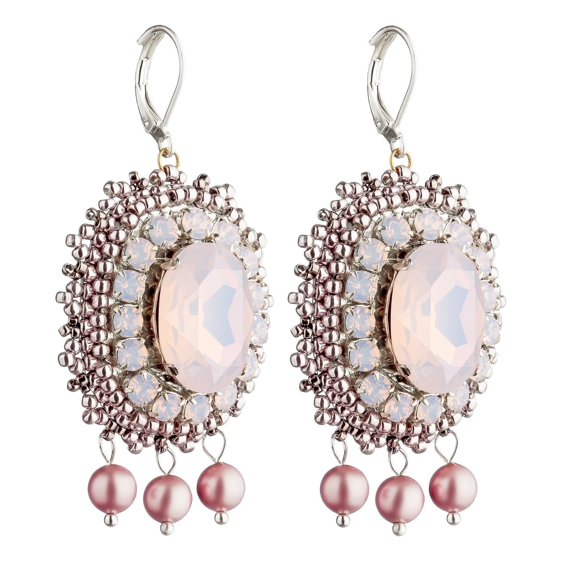 Anais Pink Earrings-ANAIS-HOUSE of BOTTA