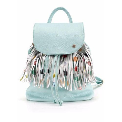 Backpack Dots With Removable Fringe-OZERIANKO-HOUSE of BOTTA