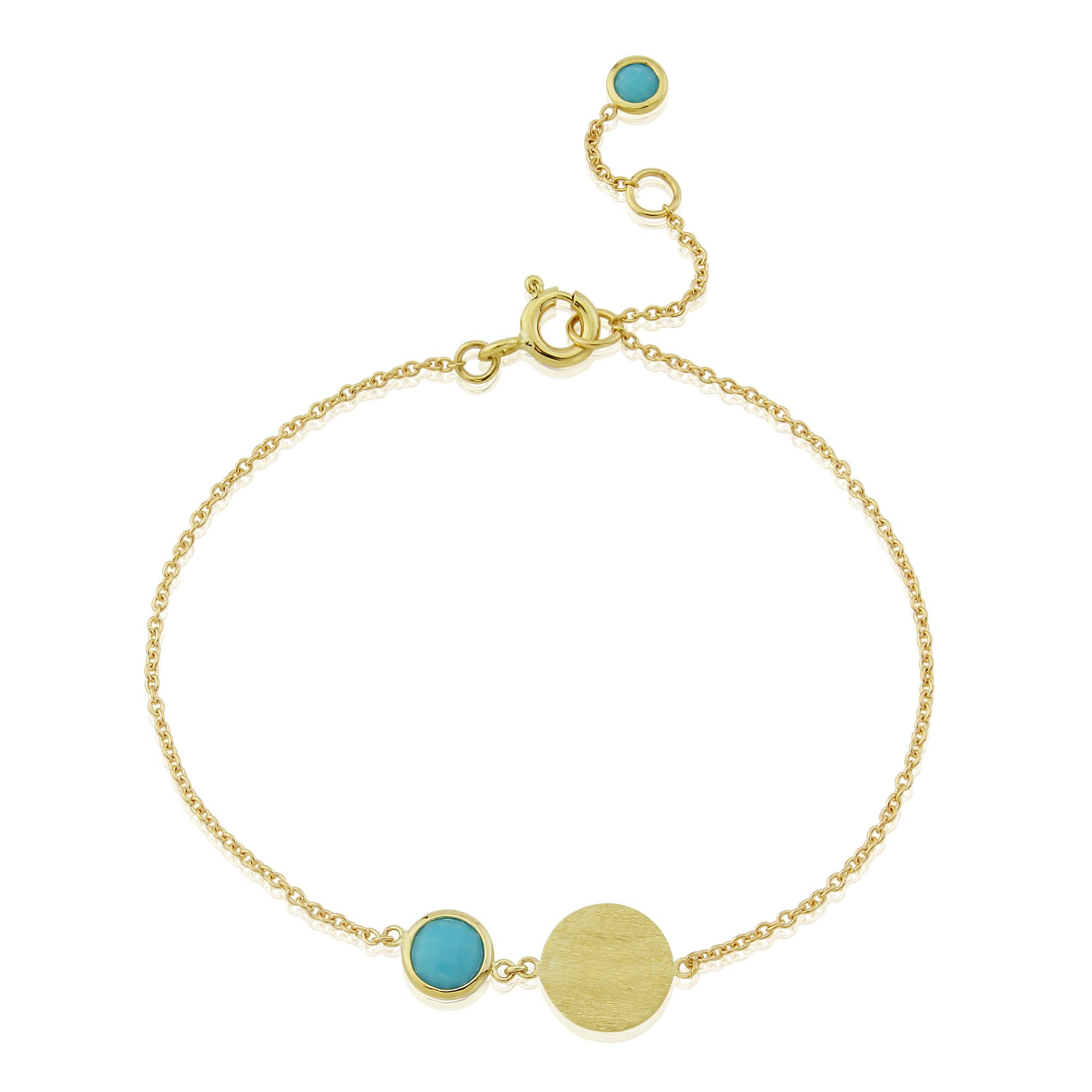 Bali December Birthstone Bracelet Turquoise-AUREE JEWELLERY-HOUSE of BOTTA