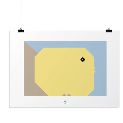 BB Chick Poster-Homeware-HOUSE of BOTTA