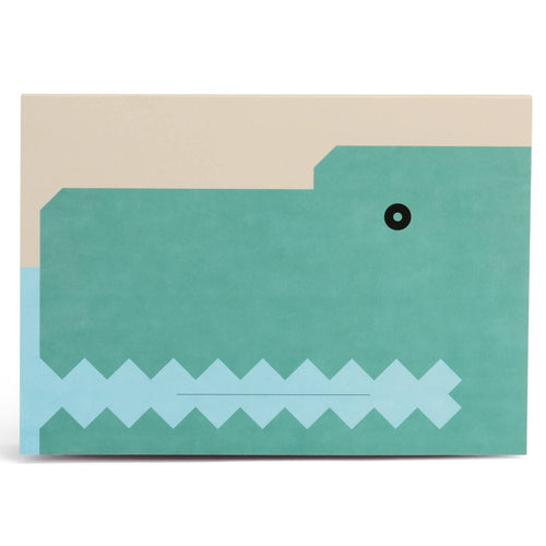 BB Crocodile Drawing Pad-Homeware-HOUSE of BOTTA