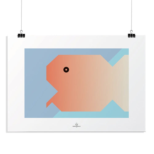 BB Fish Poster-Homeware-HOUSE of BOTTA