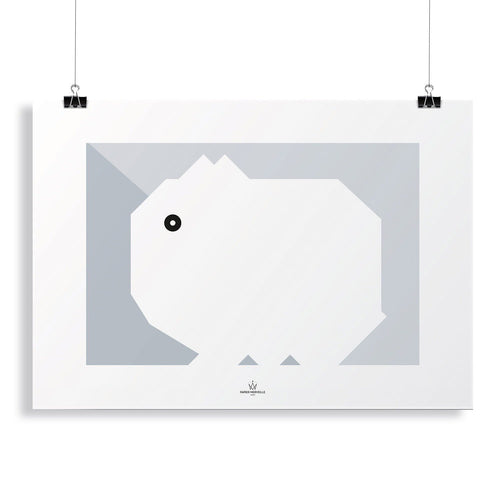 BB Rabbit Poster-Homeware-HOUSE of BOTTA