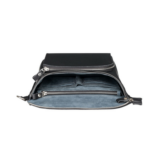 Black Universal Shoulder Bag-Men-HOUSE of BOTTA