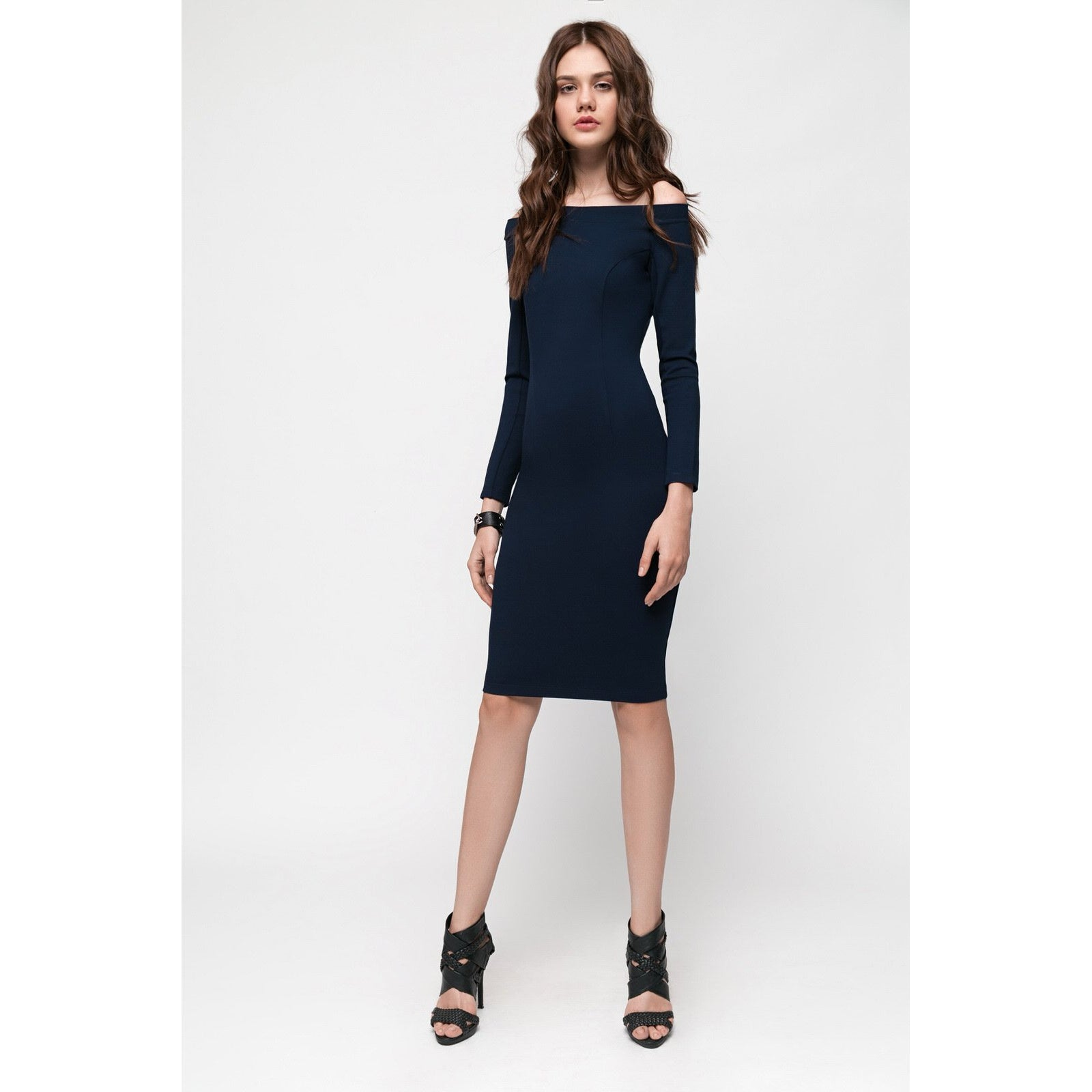 Blue Bodycon Dress The Way I Feel-OVER THE SEA-HOUSE of BOTTA