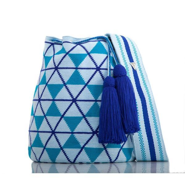Blue Mochila Bag-SUSU Accessories-HOUSE of BOTTA