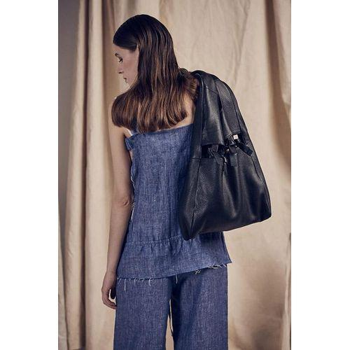 Blue Pure Cotton Loose Jumpsuit-K M BY L A N G E-HOUSE of BOTTA