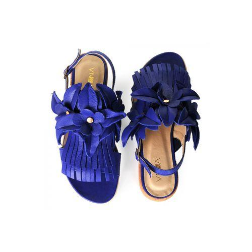 Blue Sandals-VONA-HOUSE of BOTTA