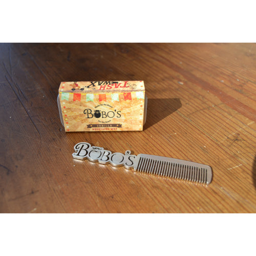 Bobo's Handle Moustache Comb-Bobo's Beard Company-HOUSE of BOTTA