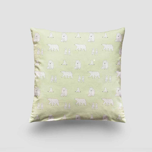 Cushion – Bear Cloudy Apple-Homeware-HOUSE of BOTTA