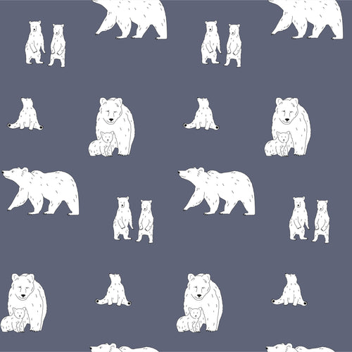 Cushion – Bear Slate Grey-Homeware-HOUSE of BOTTA