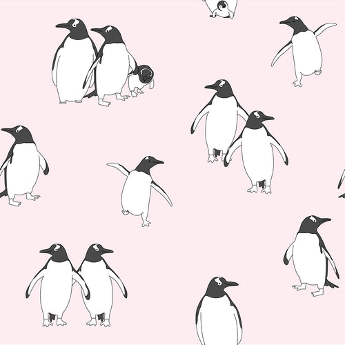 Cushion – Penguin Ice Pink-Homeware-HOUSE of BOTTA