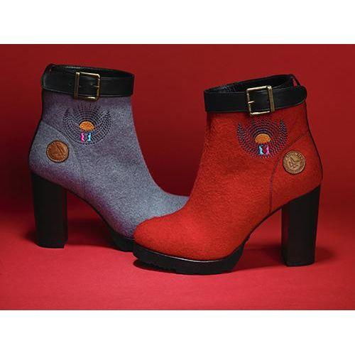 Dora Grey Boots-SOUL MADE-HOUSE of BOTTA