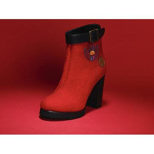 Dora Red Boots-SOUL MADE-HOUSE of BOTTA