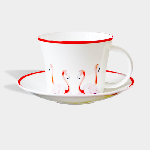 Flossy & Amber Cup and Saucer-Homeware-HOUSE of BOTTA