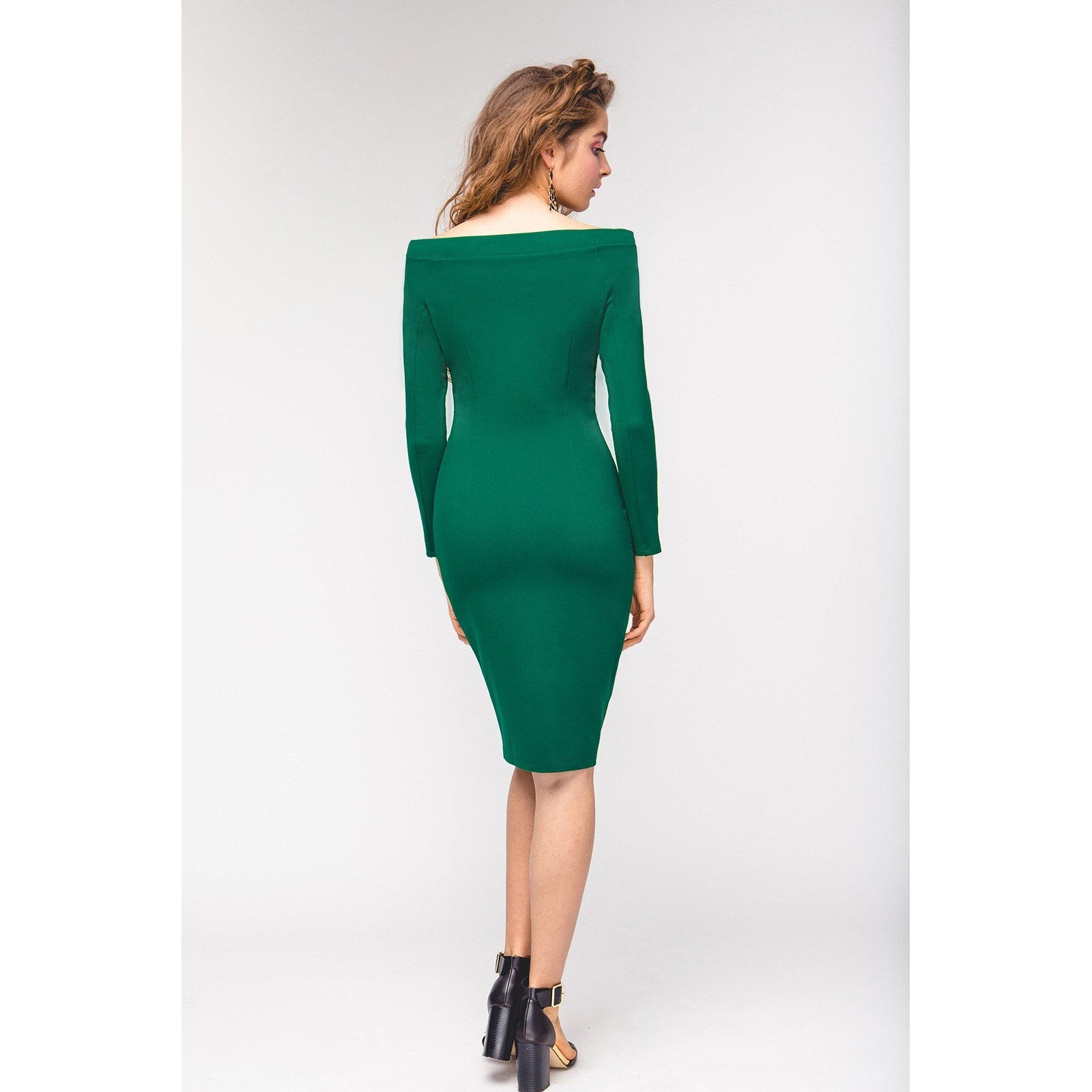 Green Bodycon Dress The Way I Feel-OVER THE SEA-HOUSE of BOTTA
