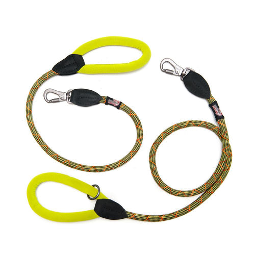 Green Comfort Slip Leash-Pets-HOUSE of BOTTA