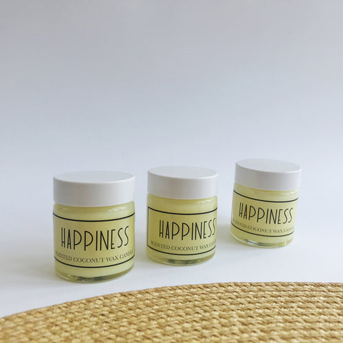 Happiness - Tealight Coconut Wax Candle-Homeware-HOUSE of BOTTA