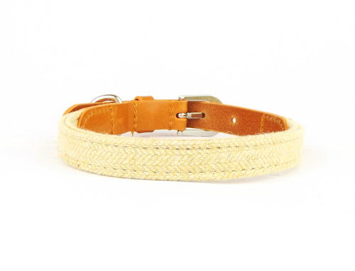 Kera Tweed Yellow Collar-Pets-HOUSE of BOTTA