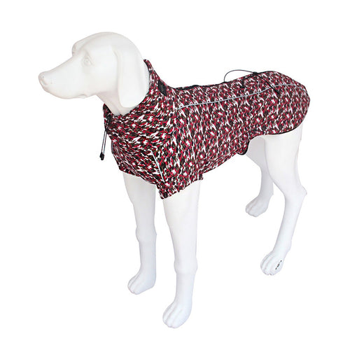 Kera Weather-Protect Dog Jacket Red-Pets-HOUSE of BOTTA