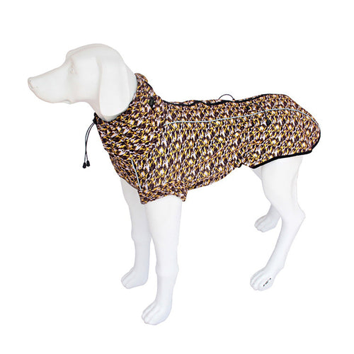 Kera Weather-Protect Dog Jacket Yellow Camouflage-Pets-HOUSE of BOTTA